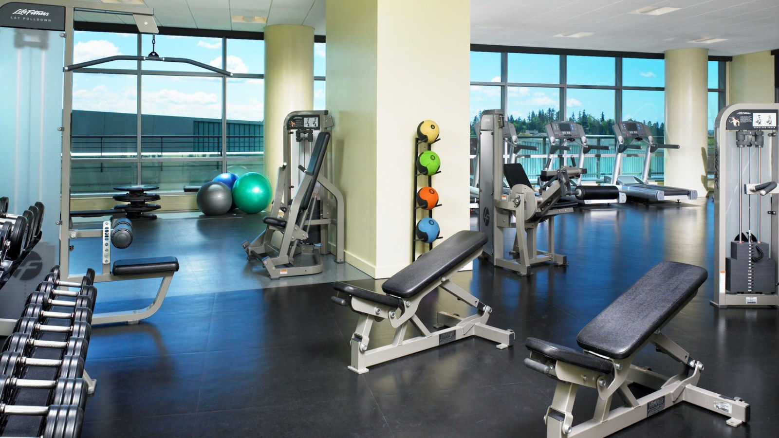 Bellevue Hotel Features - Fitness Studio