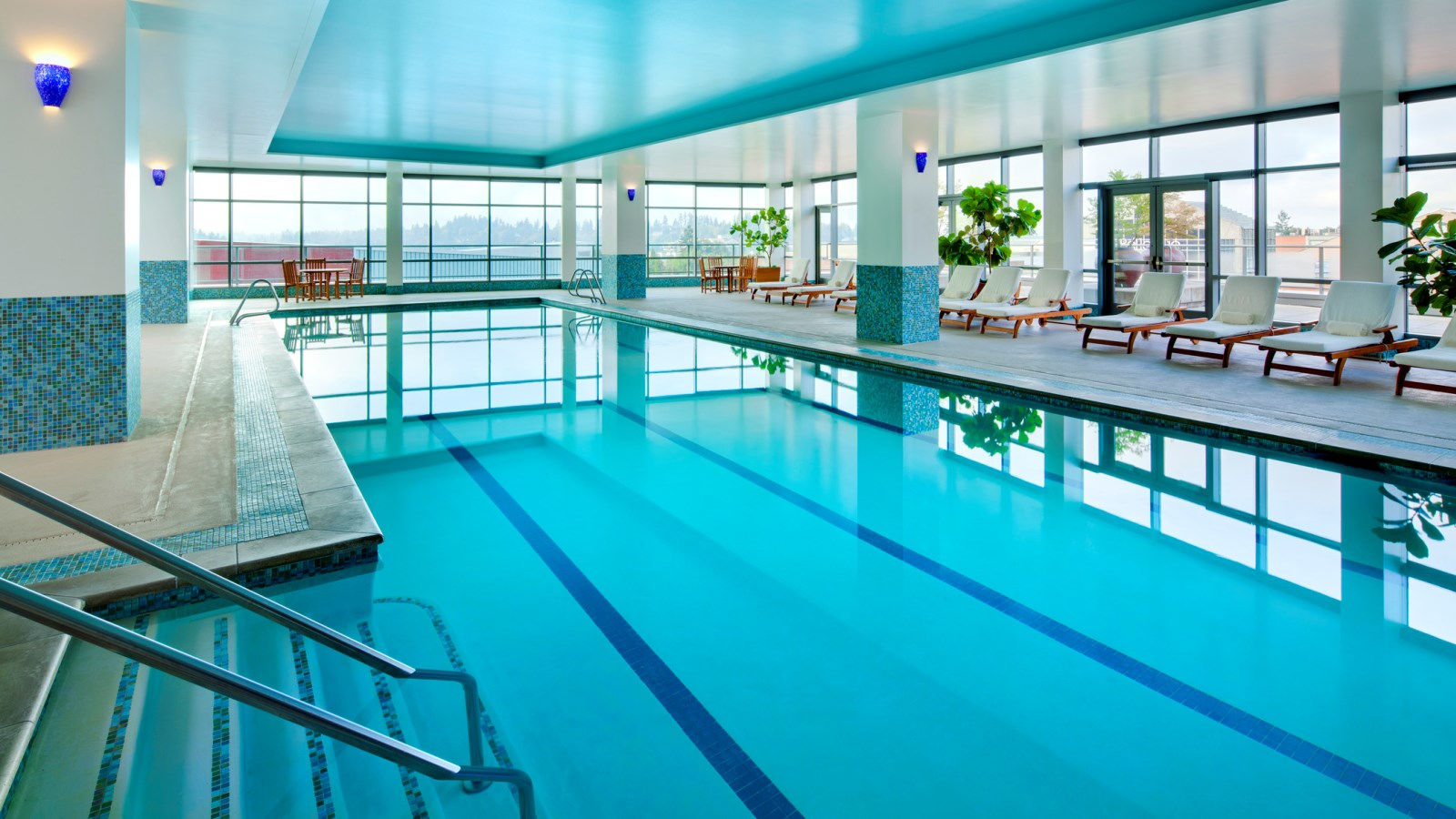 Bellevue Hotel Features - Indoor Pool
